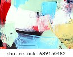 painted abstract background | Shutterstock . vector #689150482