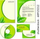 eco identity kit | Shutterstock .eps vector #68915212