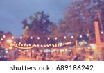 vintage tone blur image of... | Shutterstock . vector #689186242