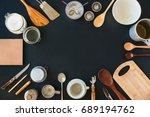 frame composition kitchen