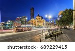 melbourne  australia   april 15 ... | Shutterstock . vector #689229415