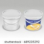 vector realistic illustration... | Shutterstock .eps vector #689235292