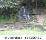 Small photo of Spook Cave Falls in Iowa