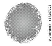 frosty window texture on a...   Shutterstock .eps vector #689267128