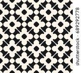 vector seamless pattern in...   Shutterstock .eps vector #689292778