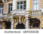 odessa  ukraine   july 2017 ...   Shutterstock . vector #689330038