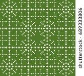 seamless pattern. modern... | Shutterstock . vector #689333806