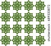 seamless pattern. modern... | Shutterstock . vector #689333872