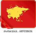 map of asia | Shutterstock .eps vector #689338636