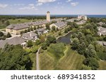aerial view of fort sheridan... | Shutterstock . vector #689341852