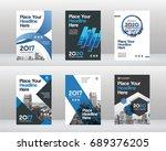 city background business book...   Shutterstock .eps vector #689376205