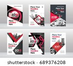 city background business book... | Shutterstock .eps vector #689376208