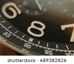 selective focus on number 8 on... | Shutterstock . vector #689382826
