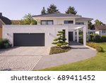 house | Shutterstock . vector #689411452