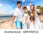 family. | Shutterstock . vector #689450512