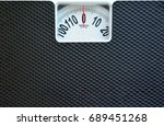 classic weight scale detail | Shutterstock . vector #689451268