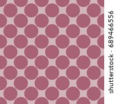 seamless pattern with polka dot....   Shutterstock .eps vector #689466556