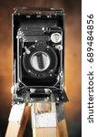 old camera | Shutterstock . vector #689484856