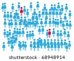 find love. | Shutterstock .eps vector #68948914