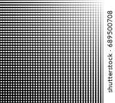 geometric black and white... | Shutterstock . vector #689500708