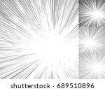 starburst  sunburst  rays of...   Shutterstock . vector #689510896