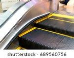 Escalator In Underground....