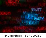 beautiful background with... | Shutterstock . vector #689619262