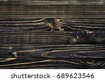 old  weather worn wood board...   Shutterstock . vector #689623546