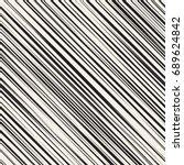vector seamless pattern.... | Shutterstock .eps vector #689624842