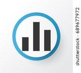 chart icon symbol. premium...