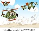 battlefield vector cartoon...