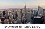 new york city  usa   july 3 ... | Shutterstock . vector #689713792
