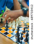 chess game | Shutterstock . vector #689733412