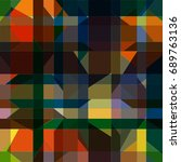 abstract colorful pattern for... | Shutterstock .eps vector #689763136