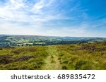 a footpath through the pennines ... | Shutterstock . vector #689835472