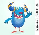 Angry Cartoon Monster....