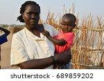 juba  south sudan  february... | Shutterstock . vector #689859202