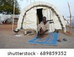 juba  south sudan  february... | Shutterstock . vector #689859352