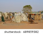 juba  south sudan  february... | Shutterstock . vector #689859382