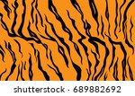 abstract tiger skin pattern ... | Shutterstock .eps vector #689882692