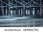 A View Under The Pier In...