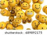 emoji emoticon character... | Shutterstock . vector #689892175