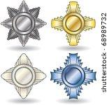 medals | Shutterstock .eps vector #68989732
