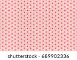 hexagon pattern paper texture... | Shutterstock . vector #689902336