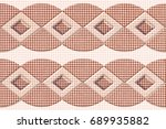 abstract home decorative wall... | Shutterstock . vector #689935882