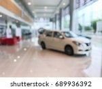blur image of car in the... | Shutterstock . vector #689936392