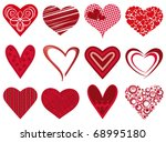 heart icon. vector | Shutterstock .eps vector #68995180