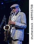 jazz en la costa  spain   july...   Shutterstock . vector #689953708