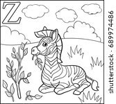 coloring page. cartoon animals