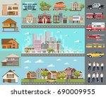 big city concept....   Shutterstock .eps vector #690009955